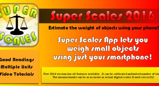 super scales premium digital scales app