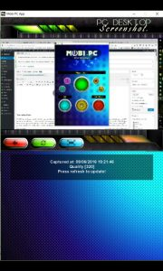 Mobi PC App Screen Capture