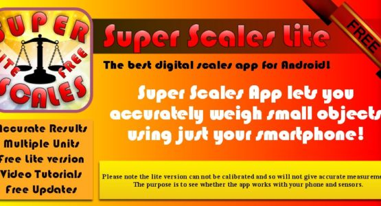 super scales free digital scale app